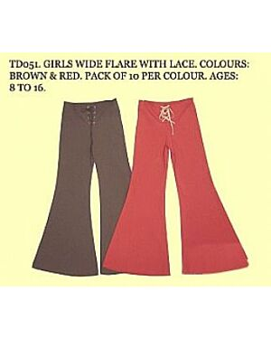 GIRLS FASHIONABLE SHOE LACE TROUSERS Treat her to the latest girls shoes and boots from our must-have collection
