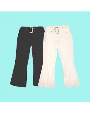 GIRLS FASHIONABLE TROUSERS WITH BELT Girls' Trousers