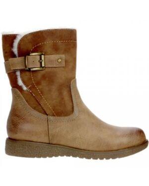 Girls Gluv Ludlow tan Fashionable Boot PL465