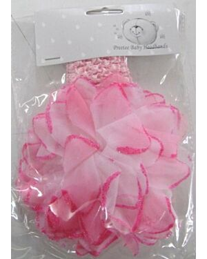 Girls Pink Headbands MJ6105