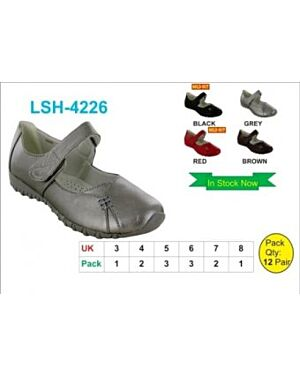 Girls Leather Loafers QA2296