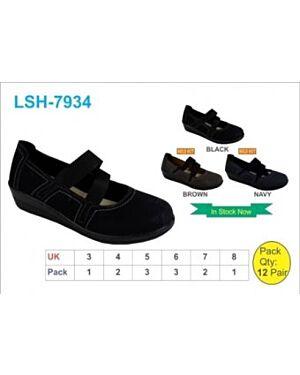 Girls Leather Strapped Shoes QA2291