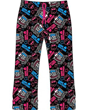 MONSTER HIGH GIRLS LOUNGE PANT MJ4324
