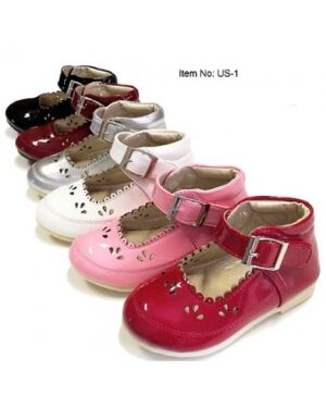 GIRLS PARTY SHOES WITH A NICE DESIGN - MJ5262