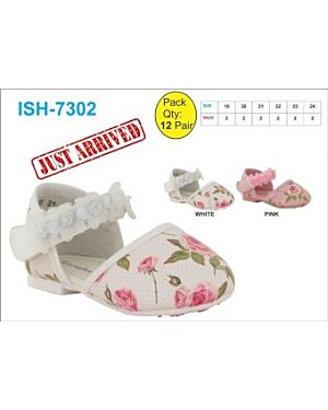 GIRLS PRINTED PARTY SHOES QA107