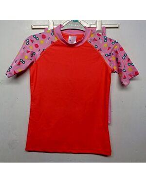 Girls Protective Swimwear 2 pcs Set QA4445