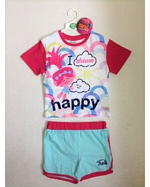 Girls Trolls Short Set QA4245