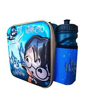 Harry Potter 3D Lunch Bag With Bottle PL0015