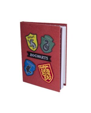 Harry Potter Velcro Notebook with Patches BSS-SLHP426