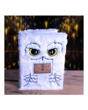 Harry Potter A5 Plush Hedwig Notebook - SP BSS-SLHP258