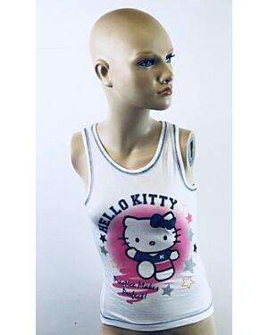 PRINTED HELLO KITTY SLEEVELESS TOP MJ4878