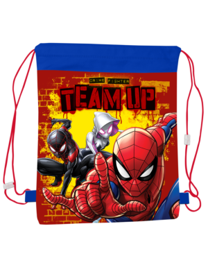 Pull String Bag Spiderman___TM11055-9183