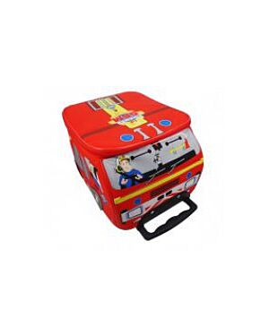 Fireman Sam Jupiter Engine Wheeled Trolley Bag QA2590