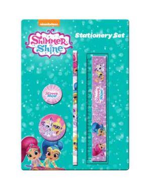 4pce Stationery Set Shimmer & Shine___TM3042-7433