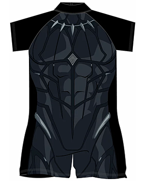 Boys Black Panther Surf Suit 18mon-5yrs PL1597