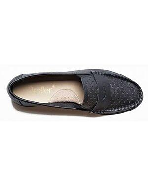 Wholesale Ladies Cleo Leather Slip On Shoes