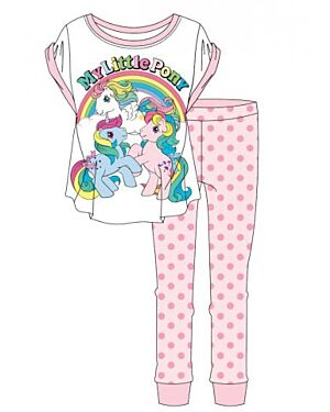 LADIES MY LITTLE PONY PJS - TD9646