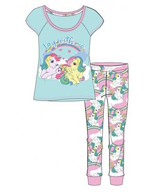 LADIES MY LITTLE PONY PJS - TD9649
