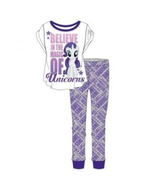 LADIES MY LITTLE PONY PYJAMAS TD9379