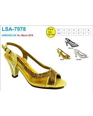 LADIES PARTY FASHIONABLE SANDALS - QA2539