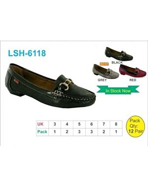 Ladies Shoes with Buckle Front QA2306