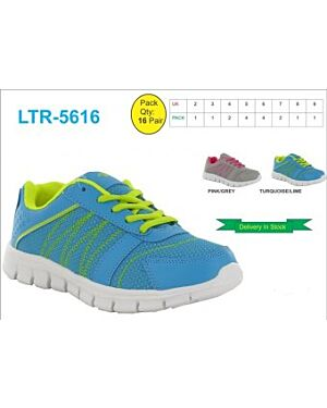 LADIES TRENDY CANVAS TRAINER QA2042