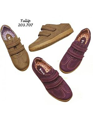 Wholesale Ladies Tulip Trainers