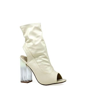 LADIES LBO-5632 WHITE PU 3-8(2-3-4-2-1)=12 BOX HOTSOLES LONDON PL2833