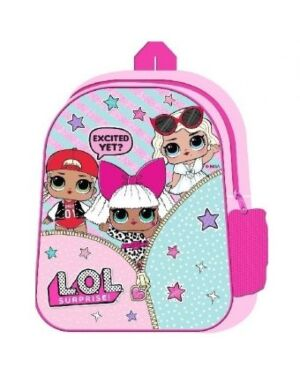 LOL SURPRISE JUNIOR BACKPACK WITH SIDE MESH POCKETS - QA2412
