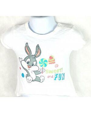 Looney Toones Tweety and baby Bugs Bunny T Shirt - MJ5679
