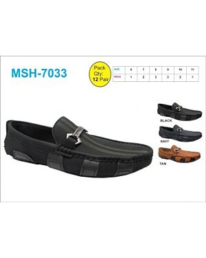 MENS SMART CASUAL SLIP ON SHOE - QA059