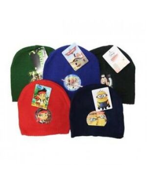 Mickey,Planes,Jake,Minions,Turtles Boys Winter Hats - TD10223