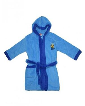 Boys Despicable Me Minion, Soft & Cosy Fleece, Hooded Dressing TD8162