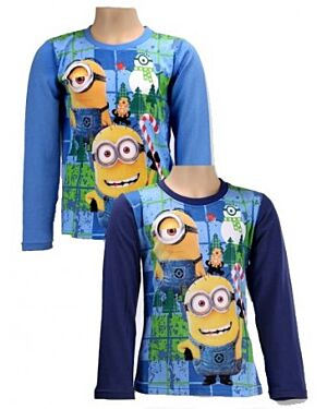 Minions Long Sleeve T-Shirts & Tops (2-16 Years) for Boys