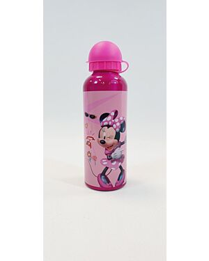 METAL WATER CANTEEN WITH LID 500ML MINNIE__TM-MNE44451P