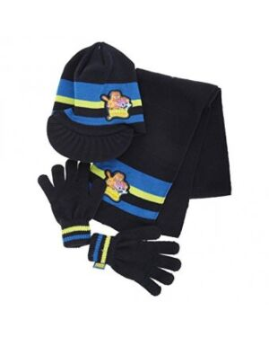 Moshie Monsters Boys hat glove and scarf set- TD10366