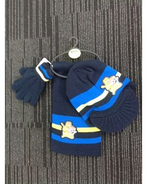 Moshie Monsters Boys hat glove and scarf set- TD5965