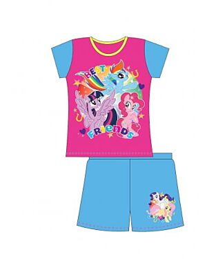 MY LITTLE PONY OLDER GIRLS SHORTIE PJS QA419