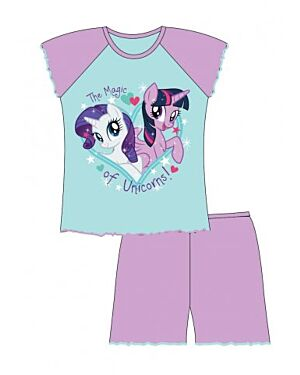 MY LITTLE PONY TODDLE GIRLS SHORT PYJAMAS QA258