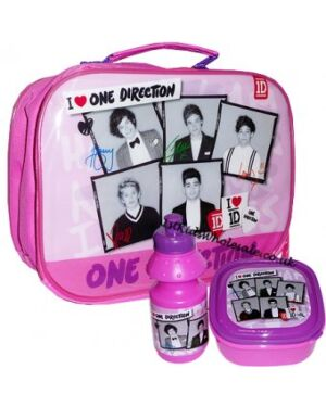 ONE DIRECTION PHOTO PRINT LUNCH BAG TD4391