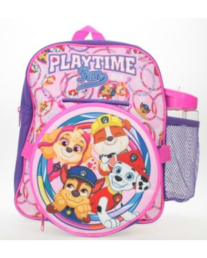 Paw Patrol bp, lunch bag and water bottle PL1856