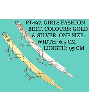 GIRLS FASHIONABLE WITH CHAINS BELT - PT497