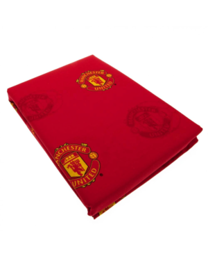 "Man Utd Repeat Crest 72"" Curtains Polycotton CCC0298"