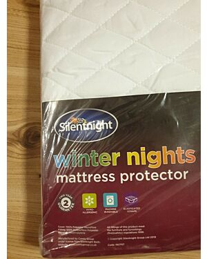 Silentnight Winter Nights Quilted Mattress Protector Single CCC0161
