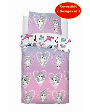 Princess NAP QUEEN Rotary (Disney) Duvet Set Single CCC0144