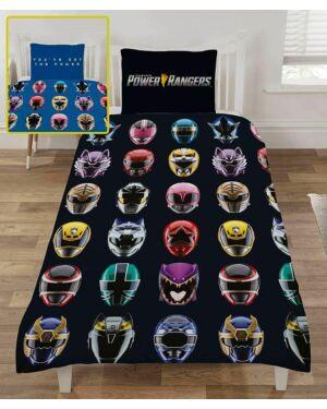 Power Rangers Helmets Rotary Duvet Set Single CCC0138