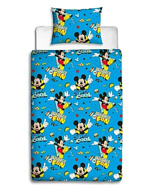 Mickey Mouse COOL ROTARY Duvet Set Single  CCC0090