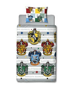 Harry Potter Quarters Rotary Duvet Set SingleCCC0052
