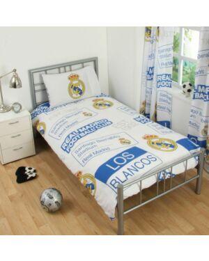 Real Madrid Patch Duvet Set Single CCC0311