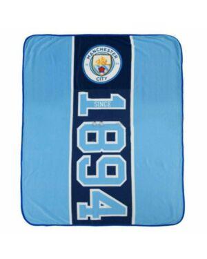 Man City Established Fleece Blanket CCC0280
